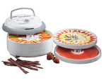 Nesco FD-75PR Food Dehydrator - 600 Watts 5 Trays / 2 Fruit Roll Sheet