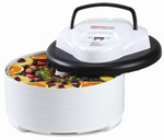 Nesco FD-77DT Food Dehydrator - 600 Watts Digital / 4 Trays / 1 Fruit