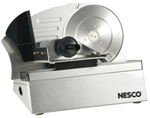 Nesco FS-10P Food Slicer - Stainless Steel - 9.8 inch Blade