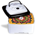 Nesco FD-80 Food Dehydrator - 700 Watts / Square / 4 Trays / 1 Origina
