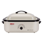 """Nesco 4818-14-30r Brand New Includes One Year Warranty, The Nesco 4818-14-30 is a 18 Quart roaster that is convenient in size to cook food for large meals"