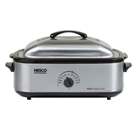 Nesco 4818-25-30pr 18 Qt Stainless Steel Base & Cover  Non-stick Cookw
